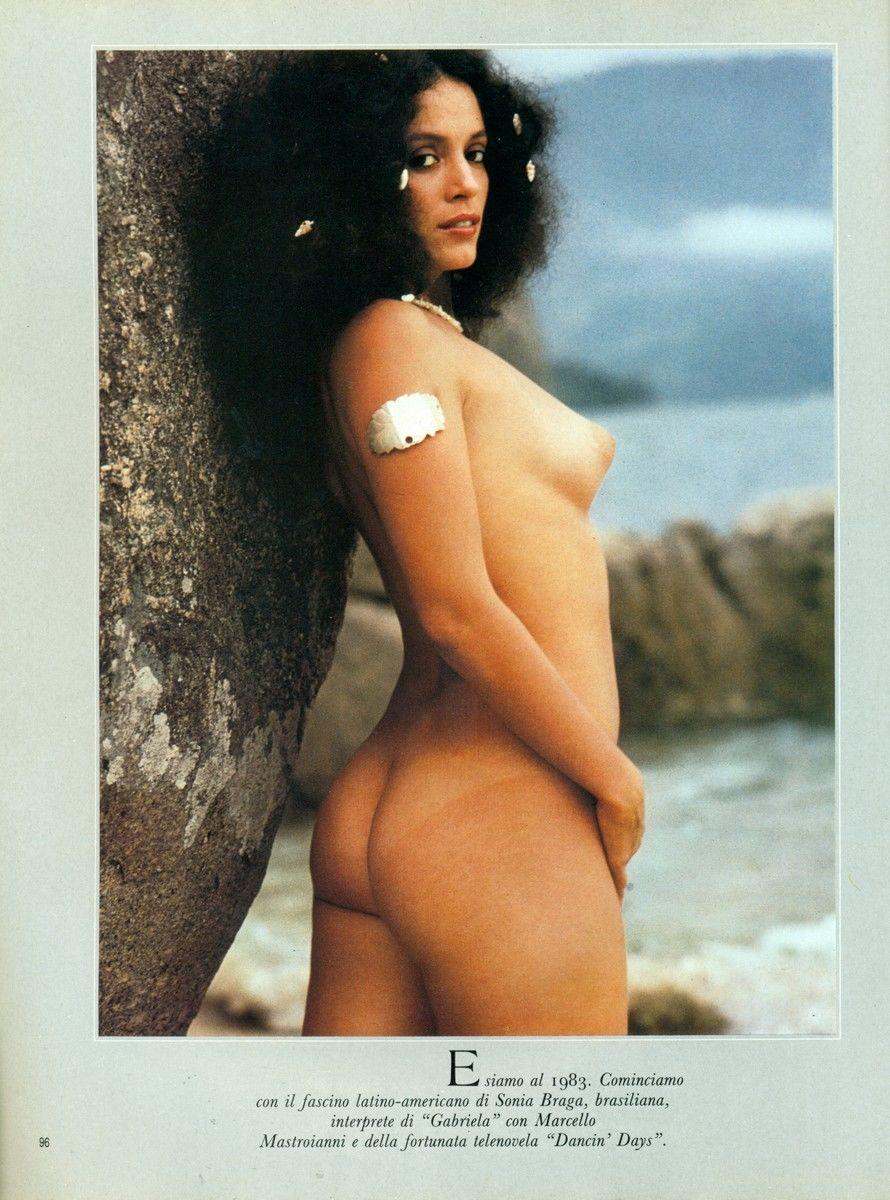 Has sonia braga ever been nude