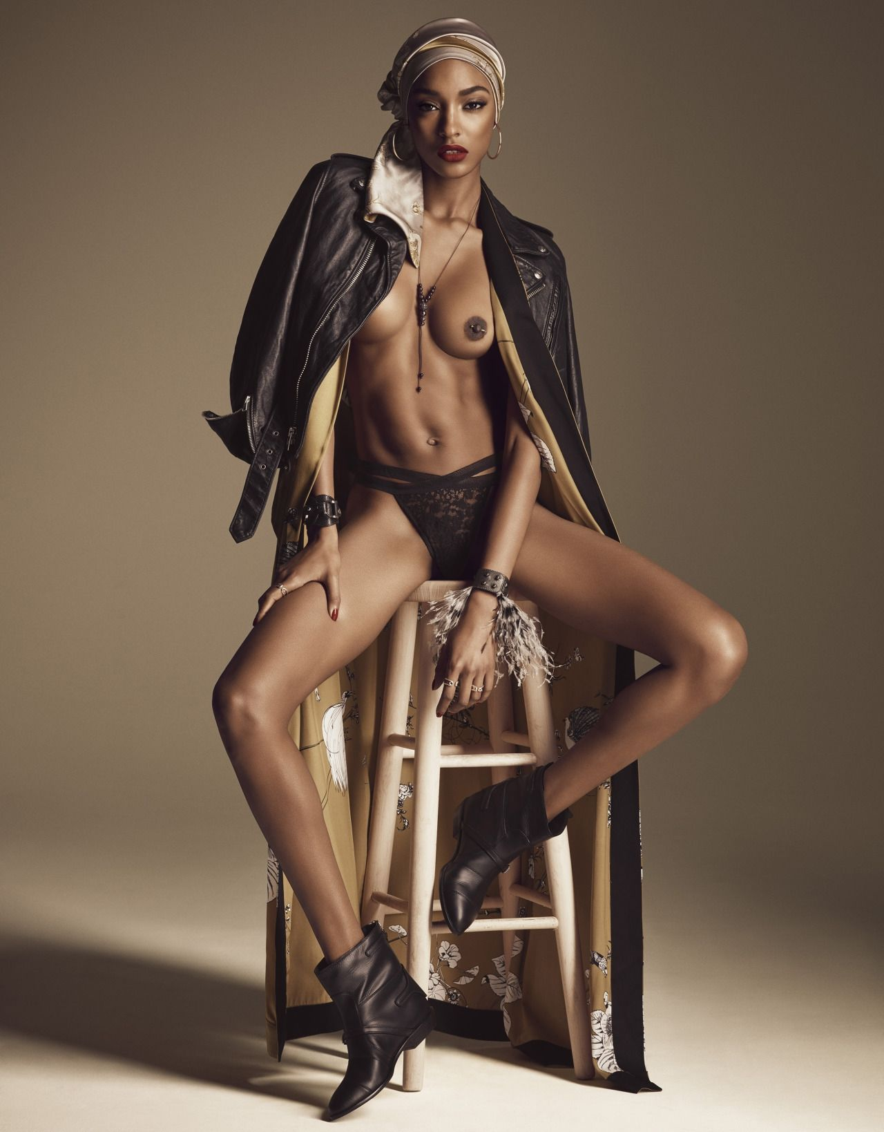 Kathryn Kampovsky Nude Model Photoshoot By Mark Harless