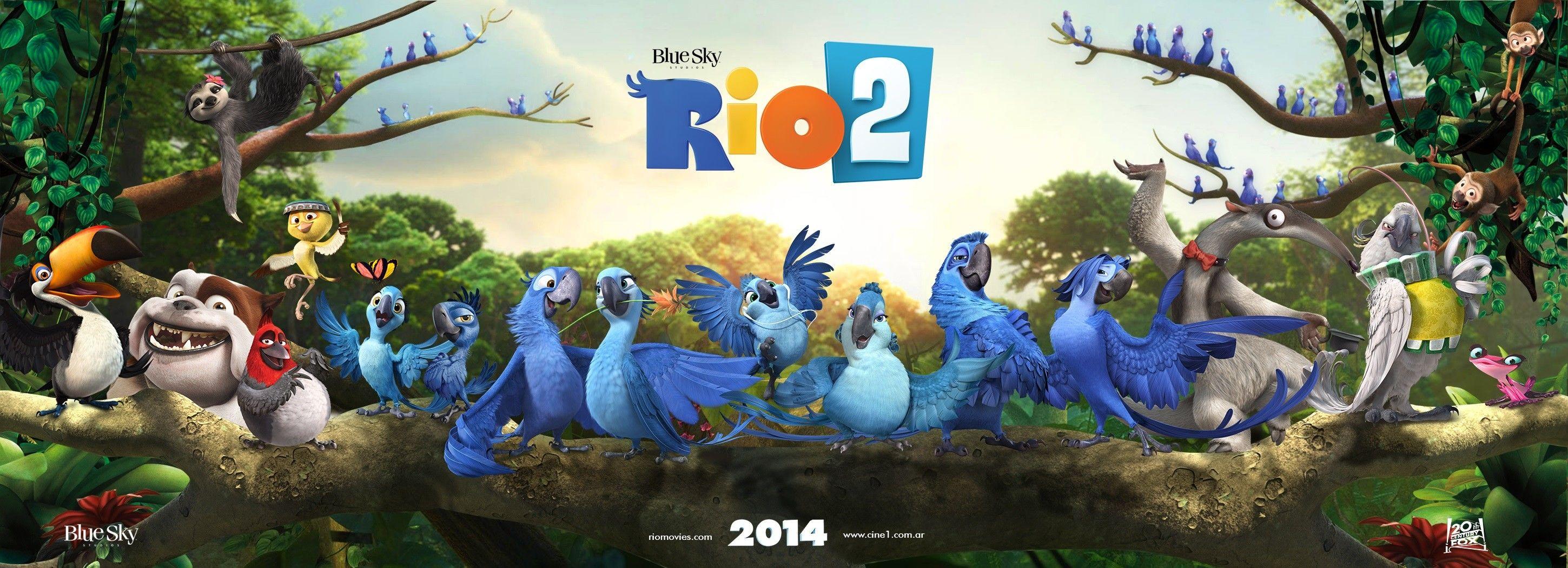 Рио 2 смотреть онлайн в отличном качестве 10 фотография