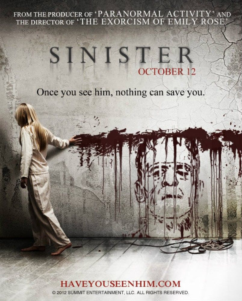 how is the sinister presented in