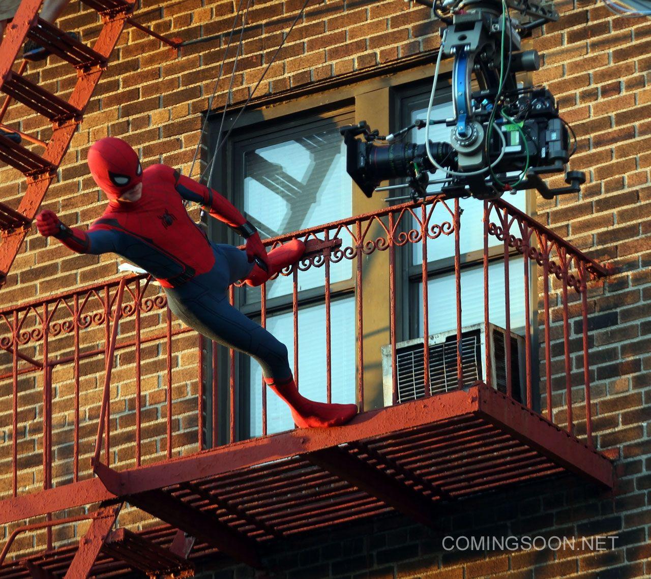агентства новые фото со съемок человек паук возвращение логика может