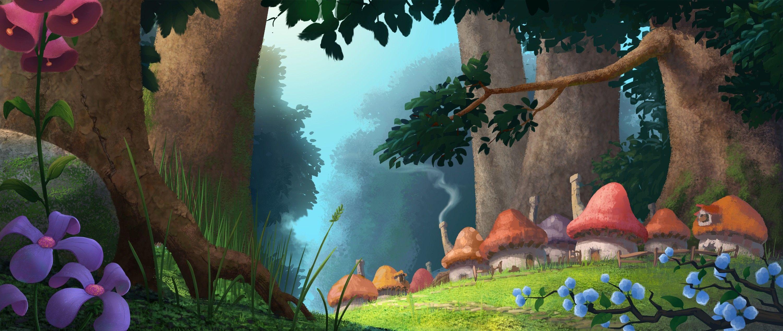 несколько смурфики затерянная деревня арты батона
