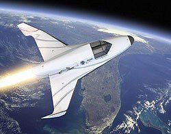 XCOR Aerospace's commercial spacecraft The Lynx