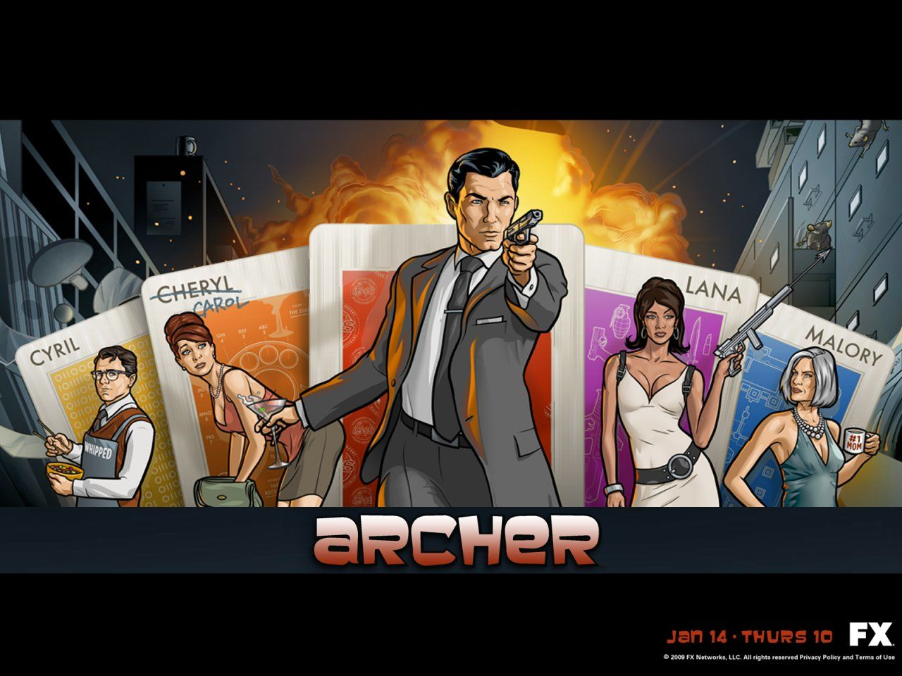 Archer choke sex nude girlfriends