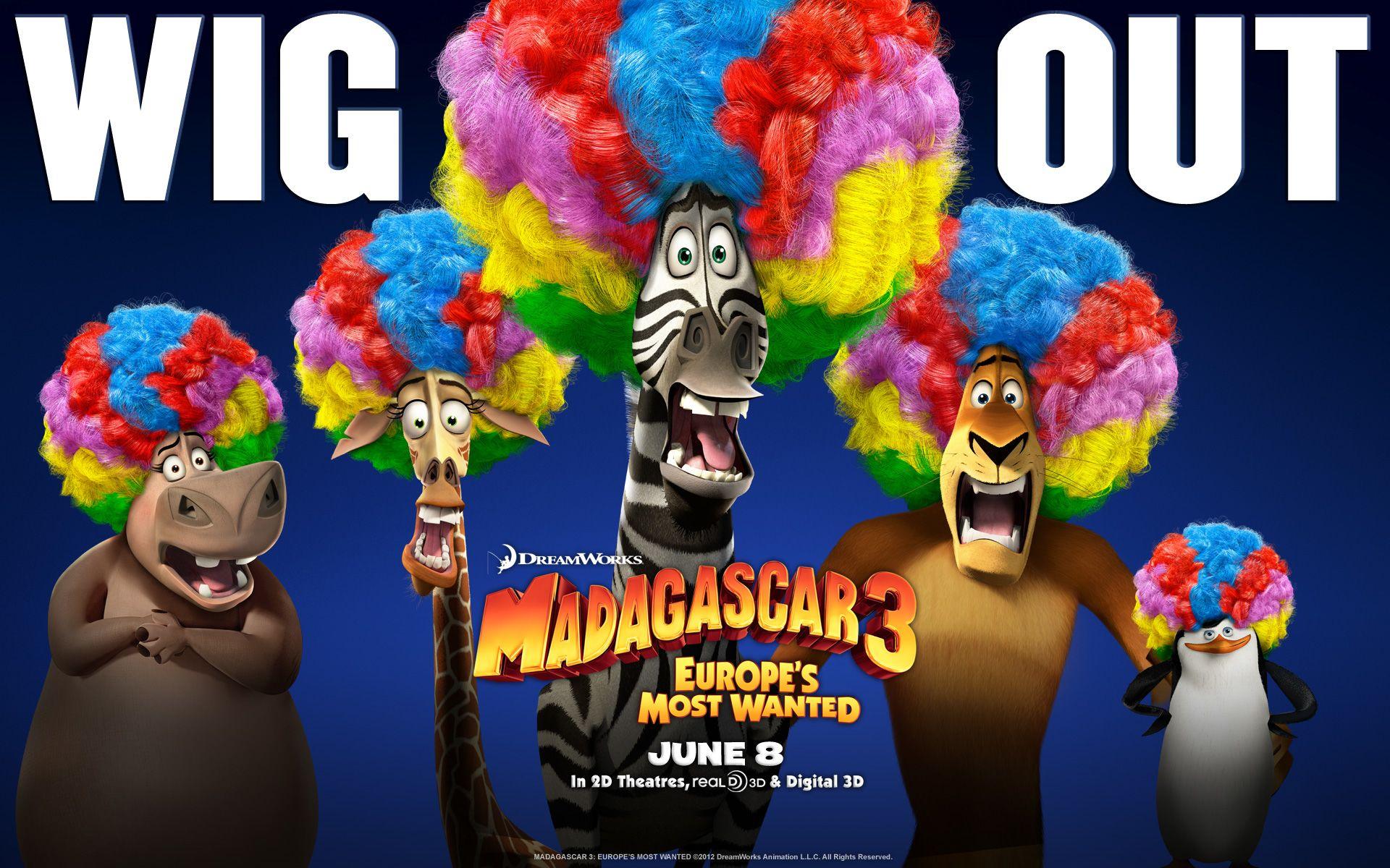 Мадагаскар 3  № 1667159 без смс