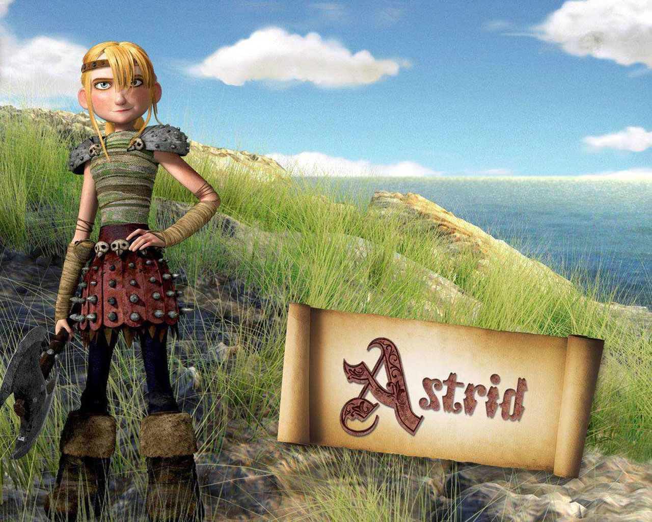 Free how to train your dragon astrid  sexy photo