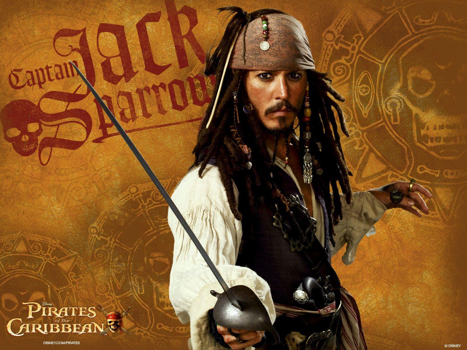 Рисунок из фильма пираты карибского моря 6
