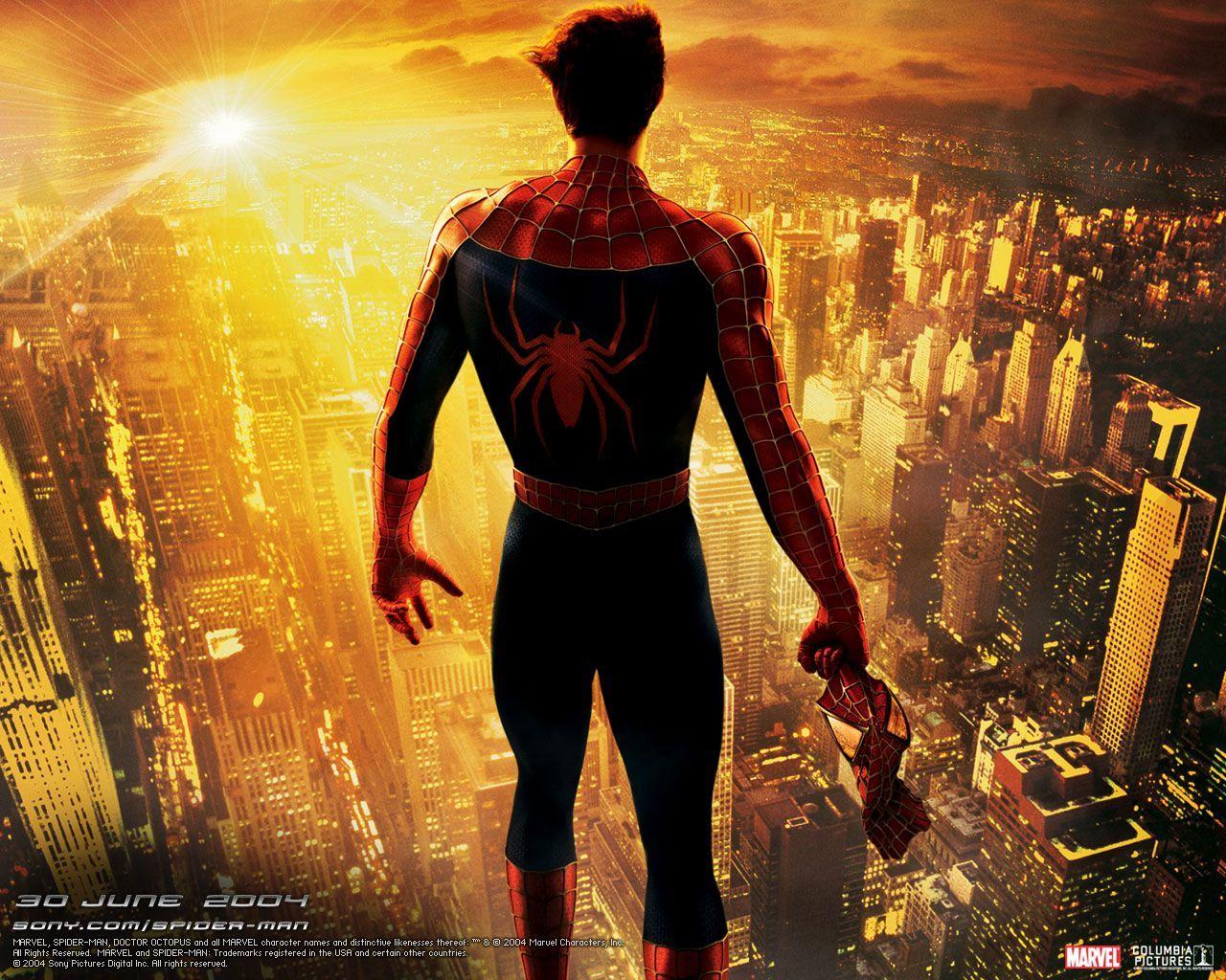 человек паук прыжок  № 3316492  скачать