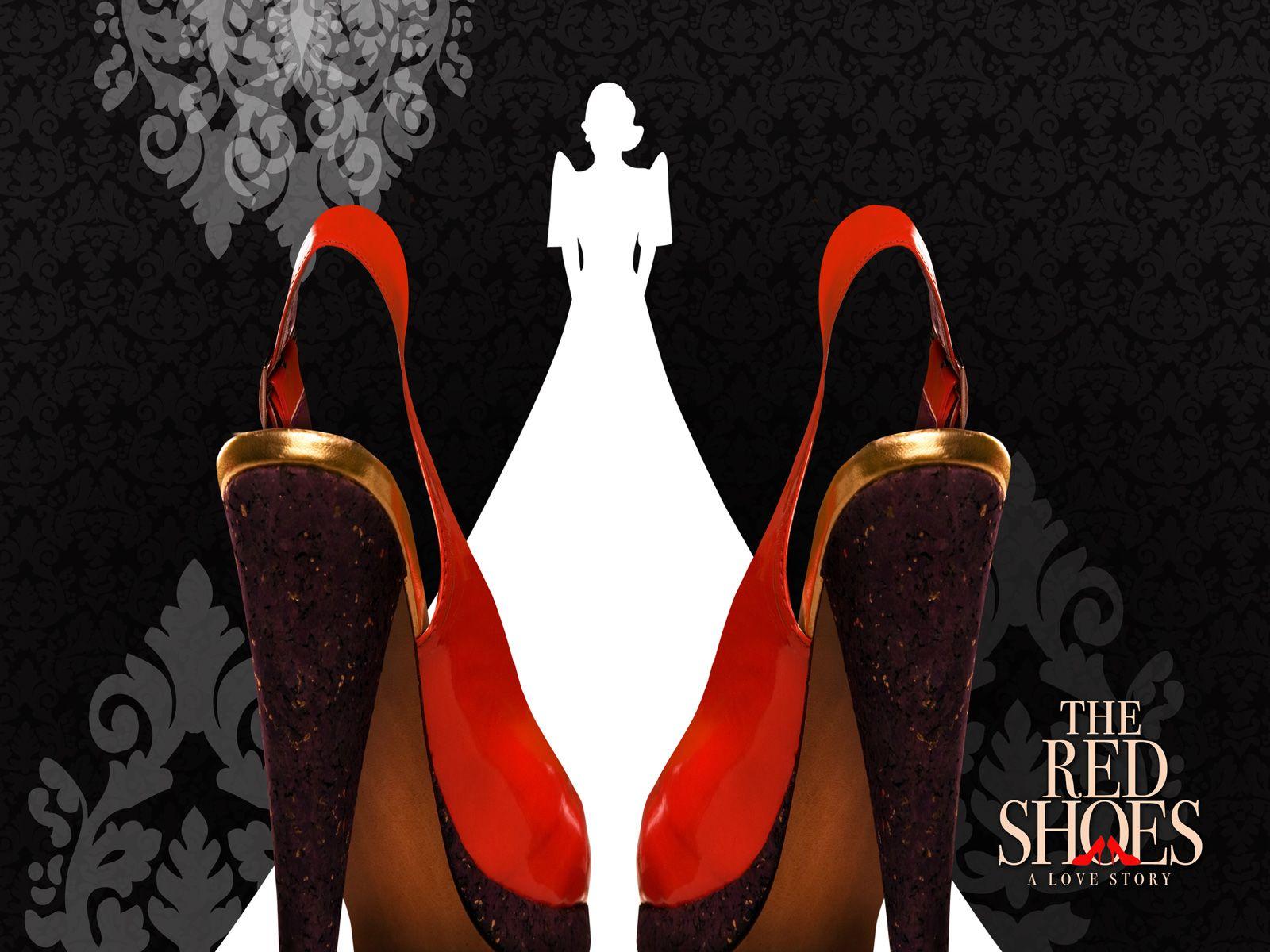 красная обувь  № 1506363 без смс