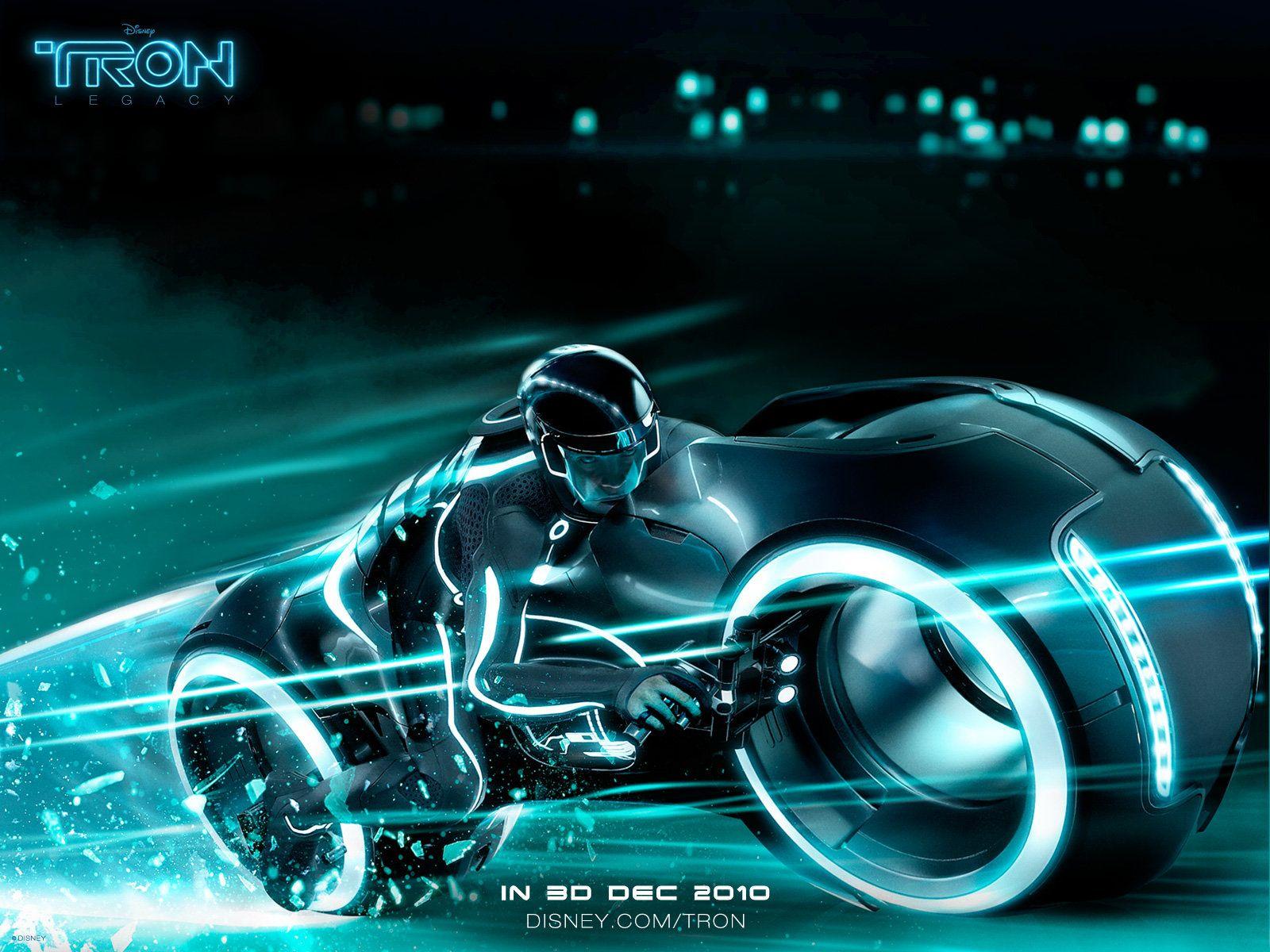 Tron неон мотоциклы  № 3312169 бесплатно