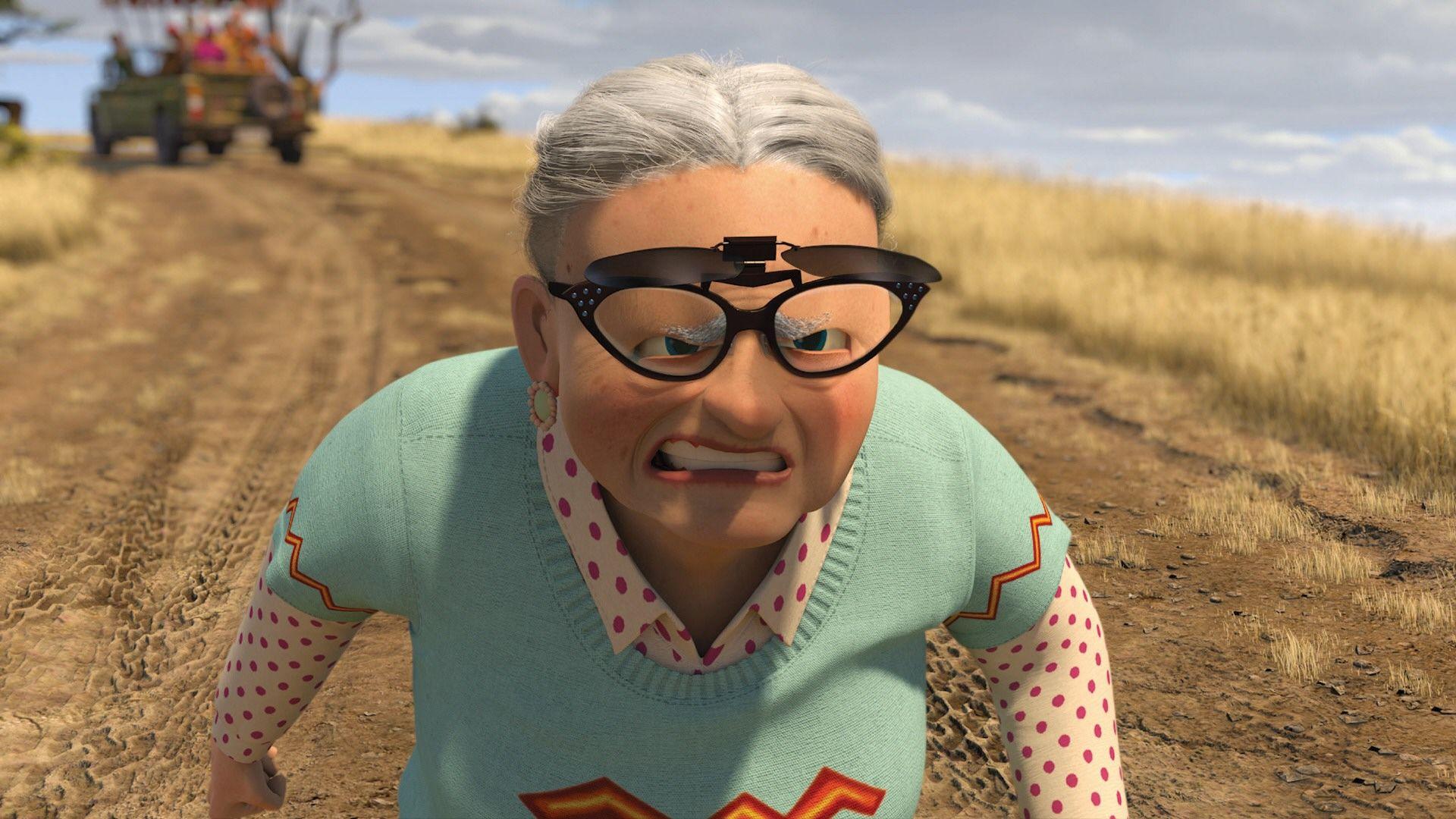 Бабка в очках 15 фотография