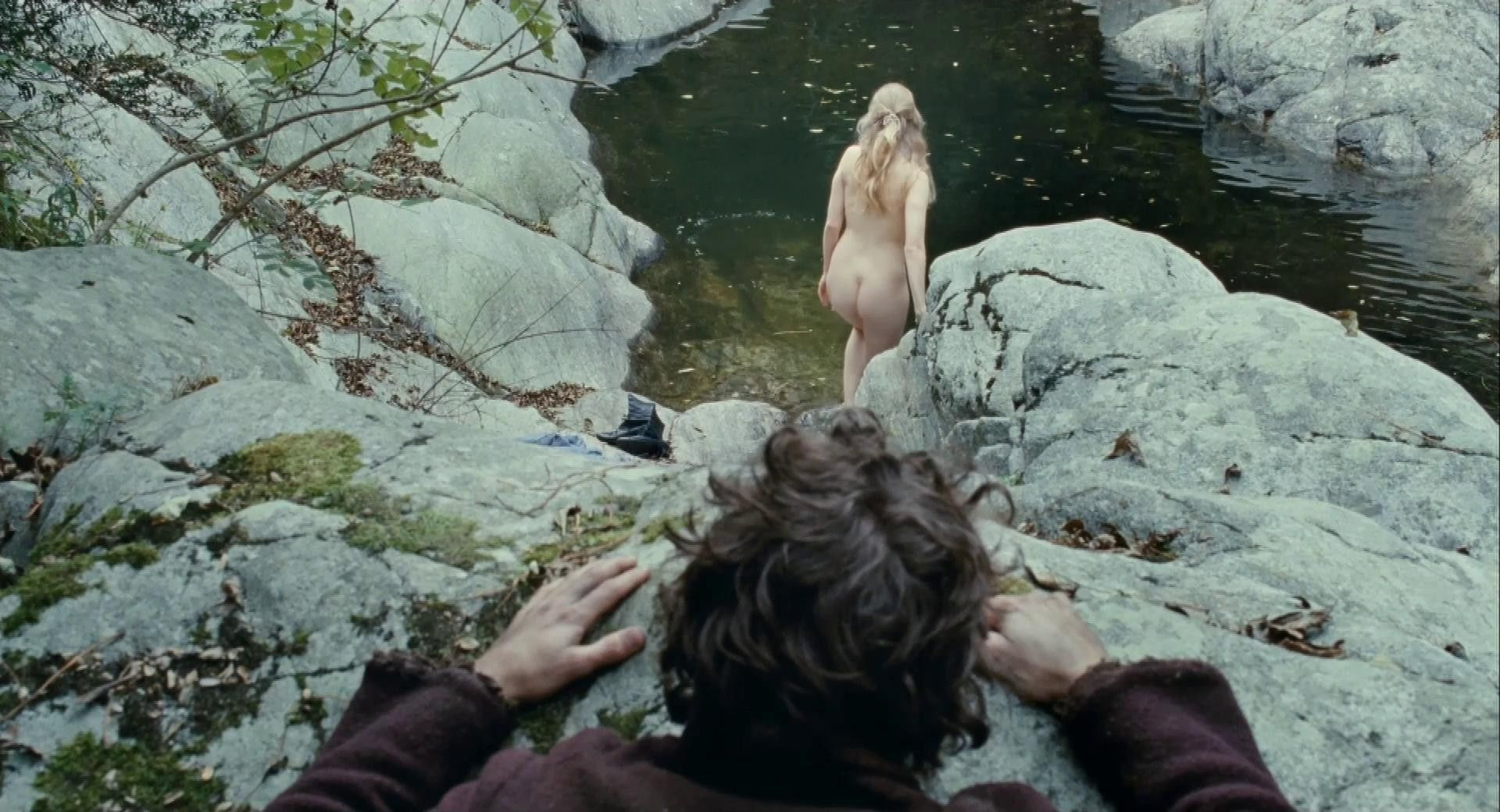 Who is naked in which films