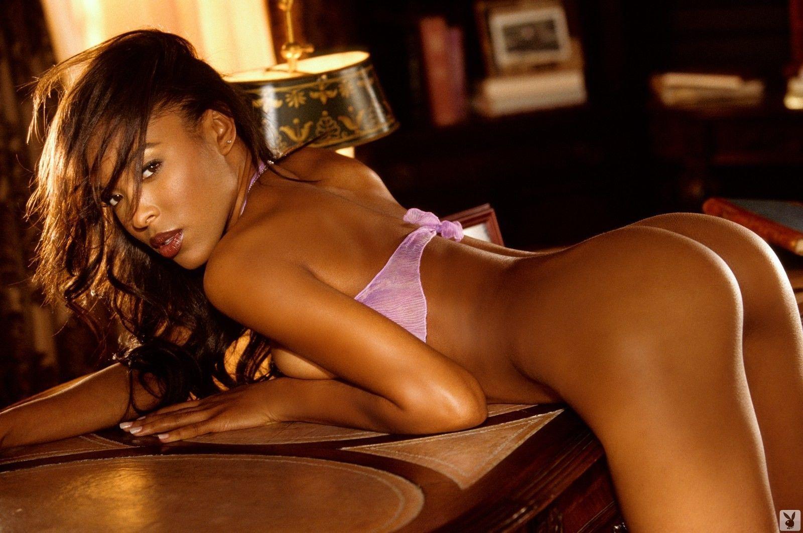 Ebony playboy girl naked