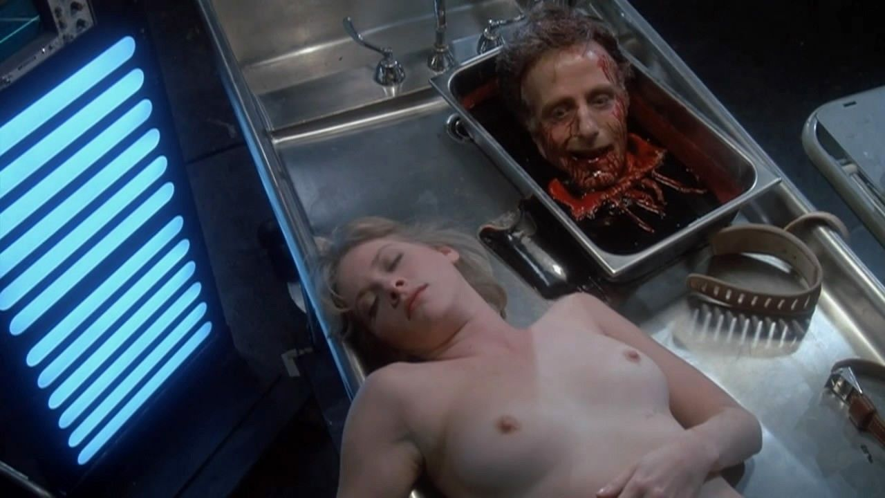 Barbara crampton large breasts in poison picture