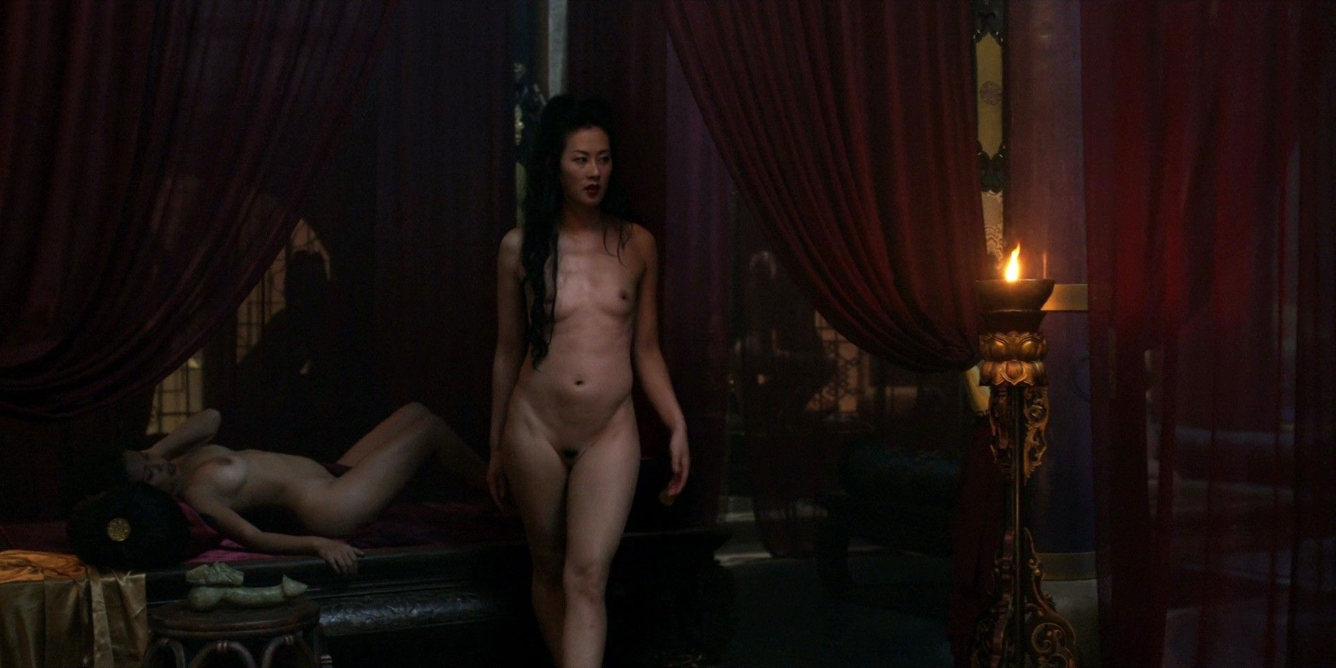 Joan Chen Hot See Through Denise Kellogg Nude Topless Katy Behean And Others Hot